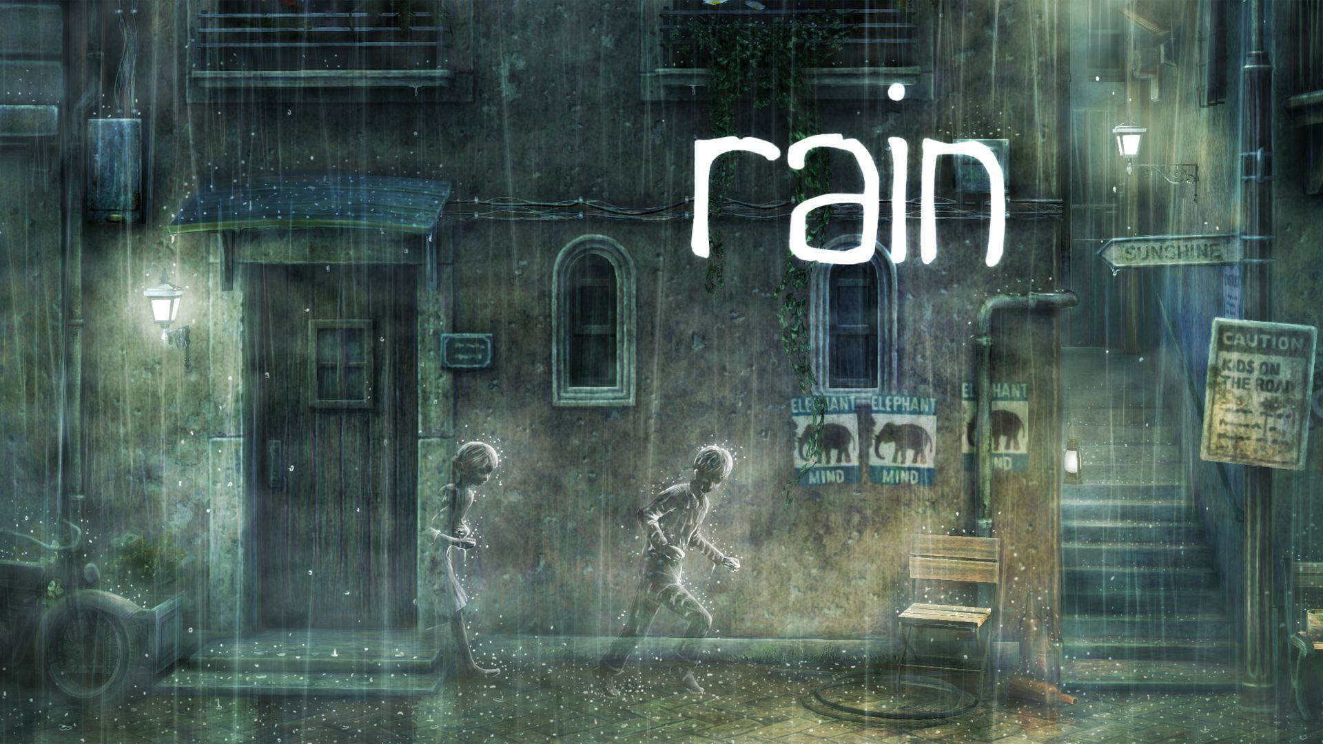 rain full hd wallpaper and background image