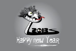 Preview Holiday - New Year 2013 Art
