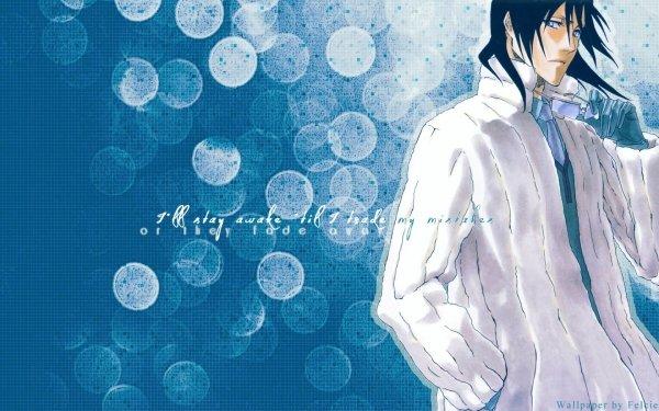 Anime Bleach Byakuya Kuchiki Bleu Fond d'écran HD   Arrière-Plan