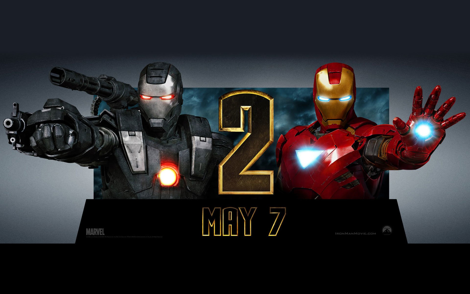 Iron man 2 full hd fond d 39 cran and arri re plan - Iron man 2 telecharger ...