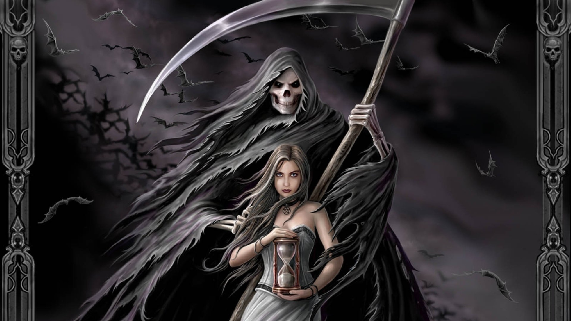 183 Grim Reaper Hd Wallpapers Background Images Wallpaper Abyss