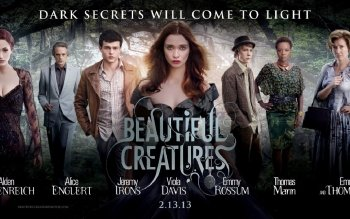 Movie - Beautiful Creatures Wallpapers and Backgrounds ID : 322970