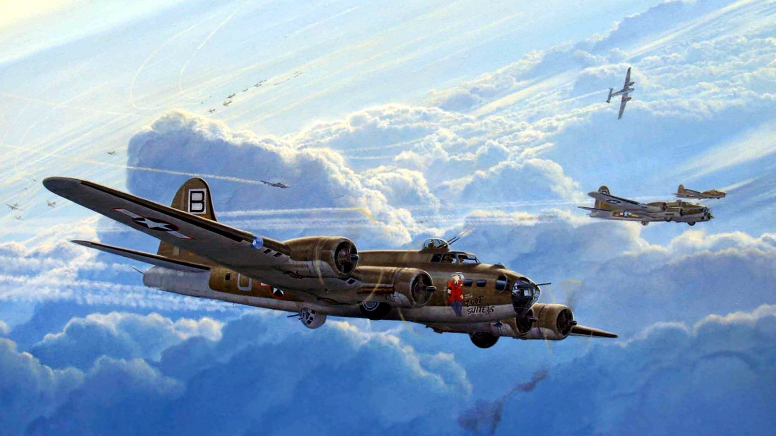 64 Boeing B 17 Flying Fortress Hd Wallpapers Background Images