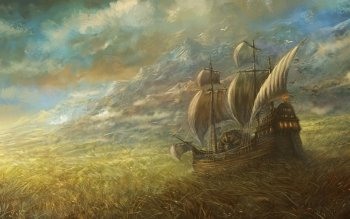 Fantasy - Ship Wallpapers and Backgrounds ID : 323514