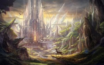 Fantasy - Landschaft Wallpapers and Backgrounds ID : 323527