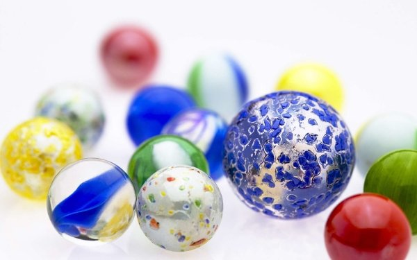 Abstract Ball 3D CGI Marble HD Wallpaper | Background Image