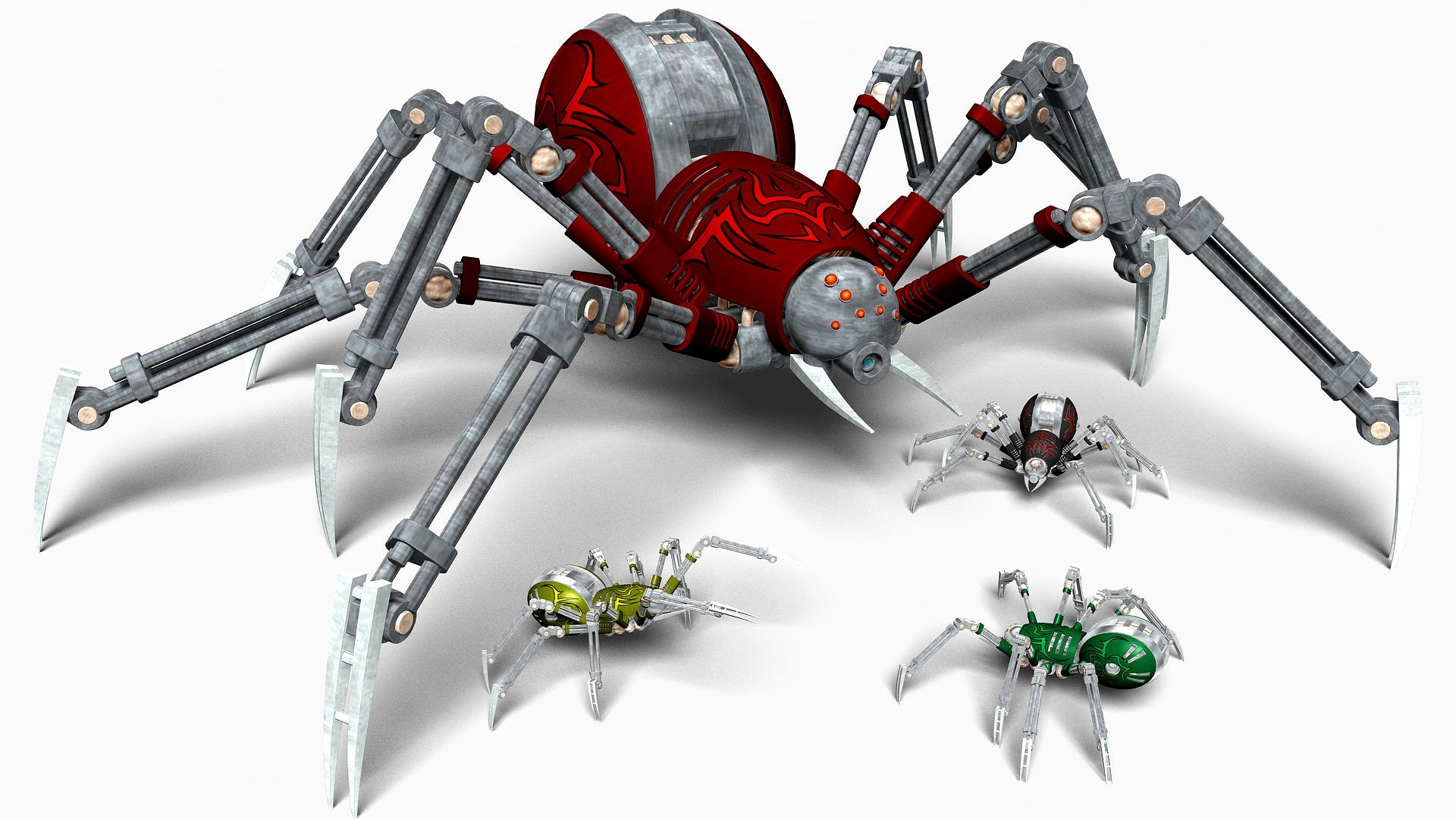 Inside Adam Savages Awesome Robot Spider YouTube