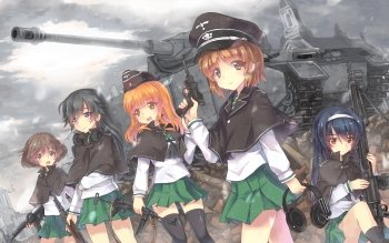Anime - Girls Und Panzer Wallpapers and Backgrounds ID : 324206