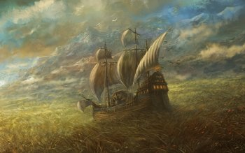 Fantasy - Ship Wallpapers and Backgrounds ID : 324420