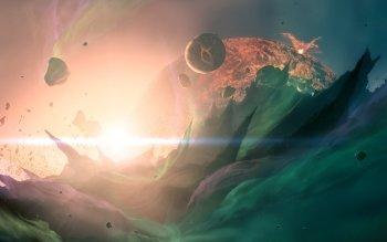 Science Fiction - Planet Rise Wallpapers and Backgrounds ID : 324610