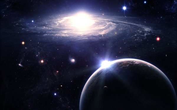 Sci Fi Space Universe Galaxy Star Planet Dwarf Star HD Wallpaper | Background Image