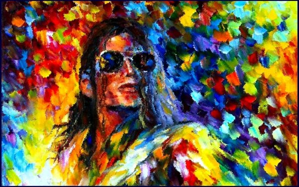 Music Michael Jackson Singers United States Singer Colorful King of Pop HD Wallpaper | Background Image