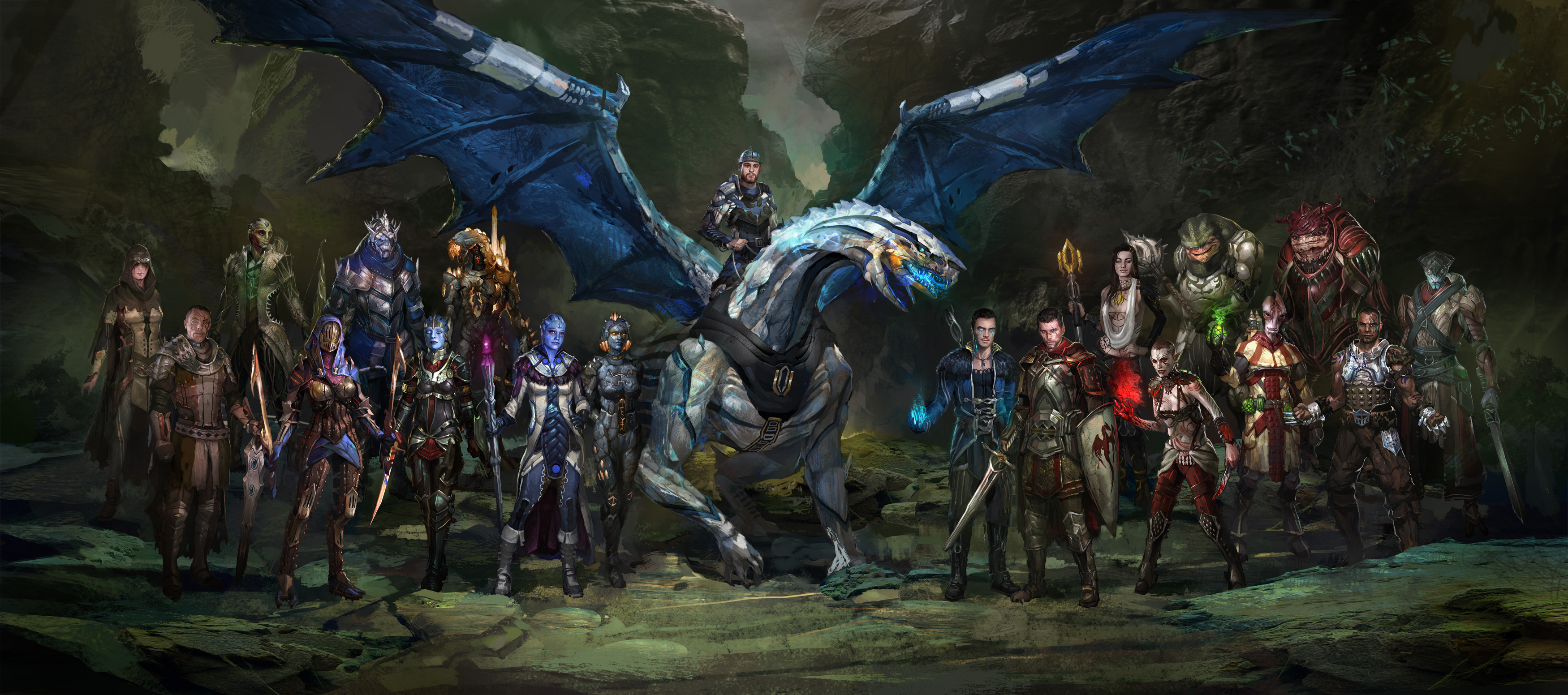 Awesome Medieval Fantasy Mass Effect Wallpaper
