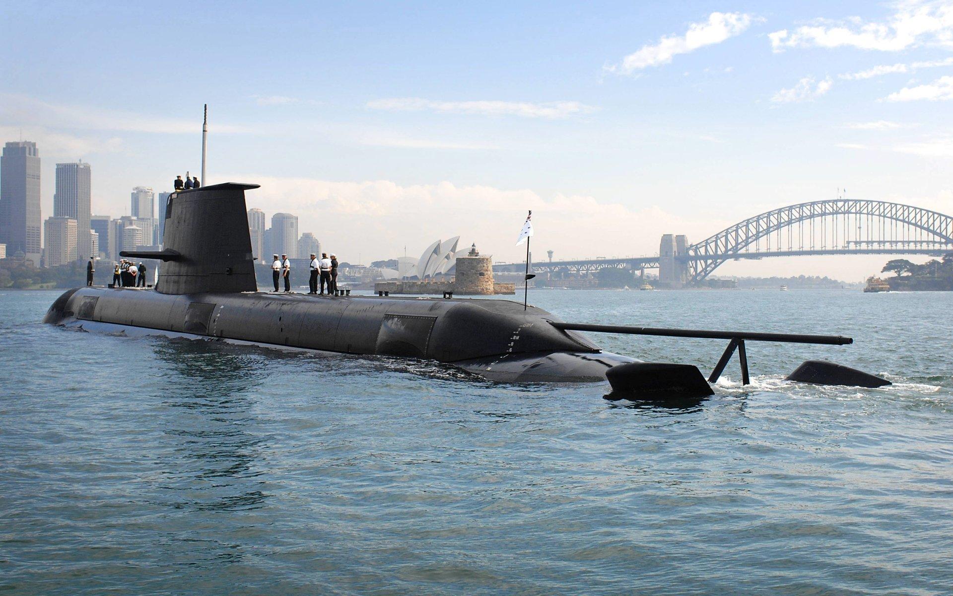 Military - Submarine  Sydney Harbour Sydney Harbour Bridge Wallpaper