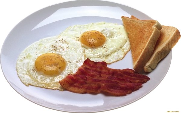 Alimento Desayuno Huevo Toast Bacon Fondo de pantalla HD | Fondo de Escritorio