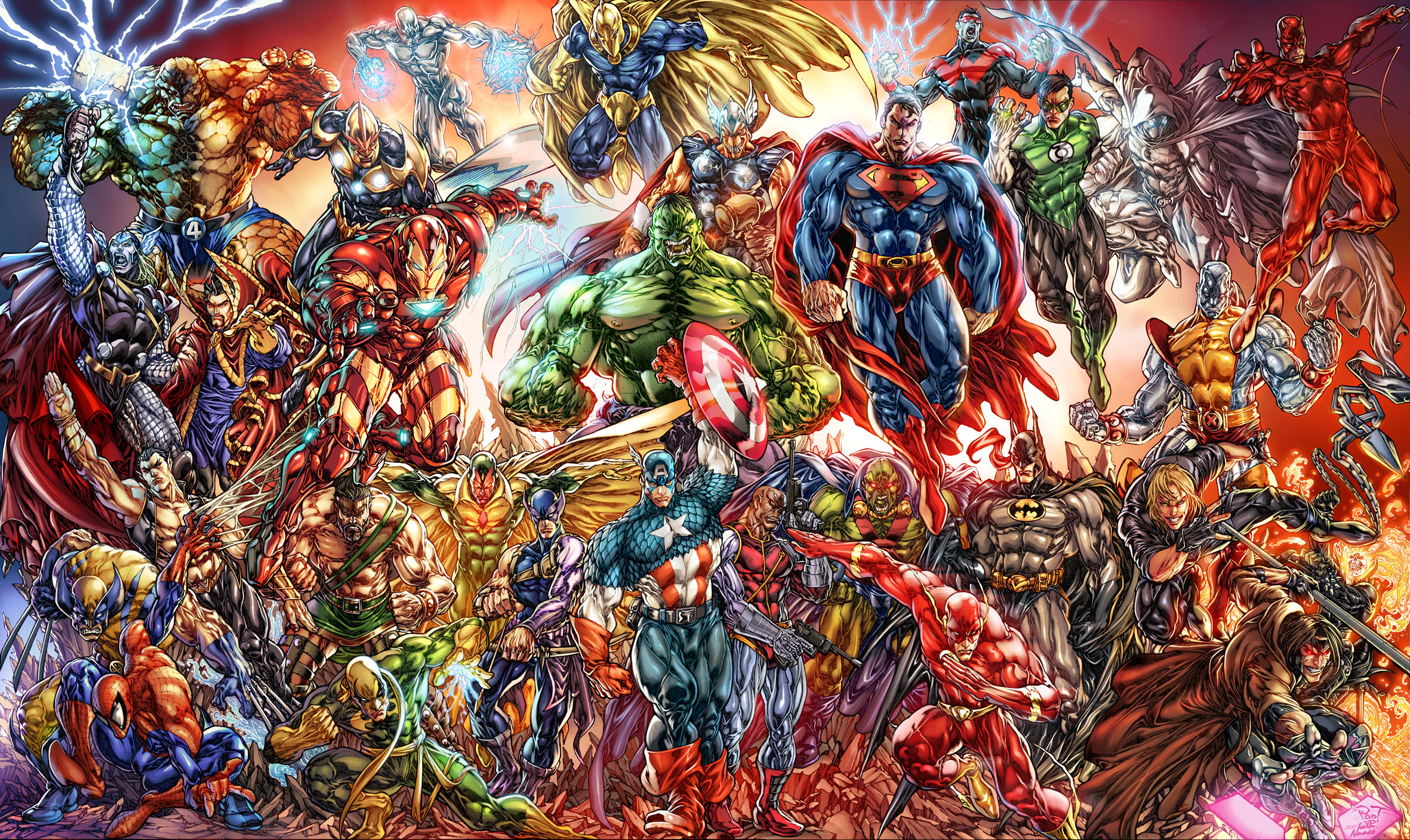 152 Thing Marvel Comics Hd Wallpapers Background Images