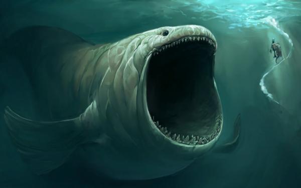 Fantaisie Monstre Marin Fond d'écran HD | Arrière-Plan