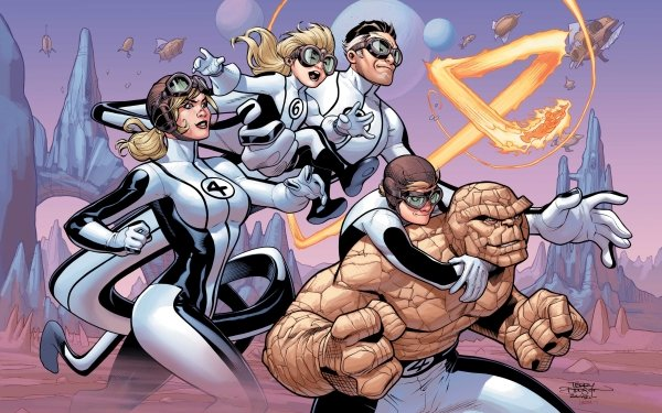 Comics Fantastic Four Thing Mister Fantastic Human Torch Franklin Richards Invisible Woman HD Wallpaper   Background Image