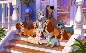 Films - Lady And The Tramp Wallpapers and Backgrounds ID : 328317
