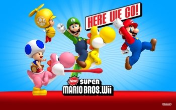 Video Game - New Super Mario Bros. Wii Wallpapers and Backgrounds ID : 328924