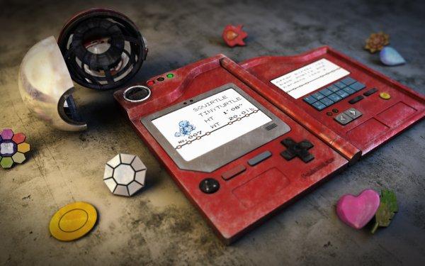 Videojuego Pokémon: Rojo y Azul Pokémon Pokedex Squirtle Pokeball Fondo de pantalla HD   Fondo de Escritorio