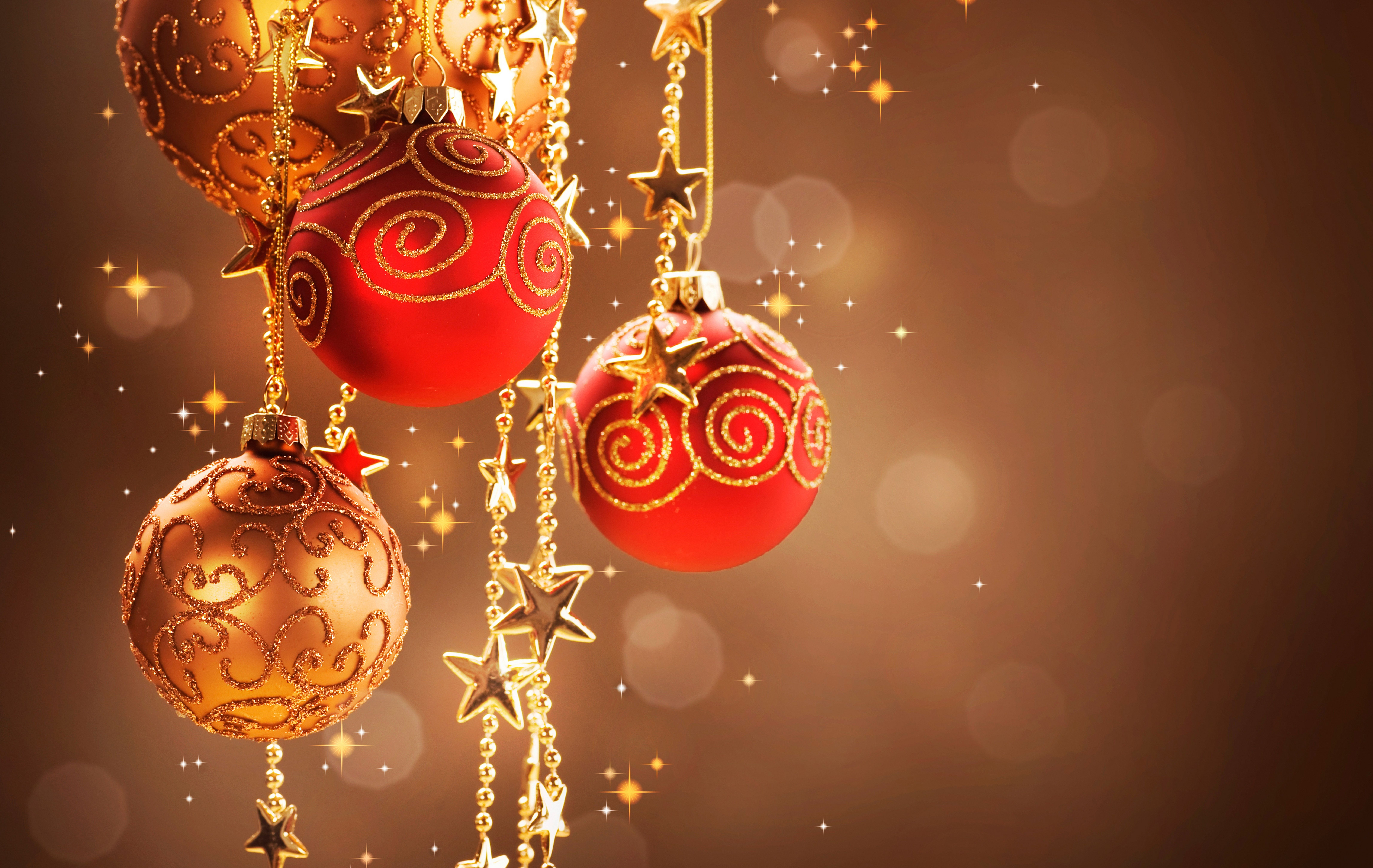 1388 Christmas Ornaments HD Wallpapers