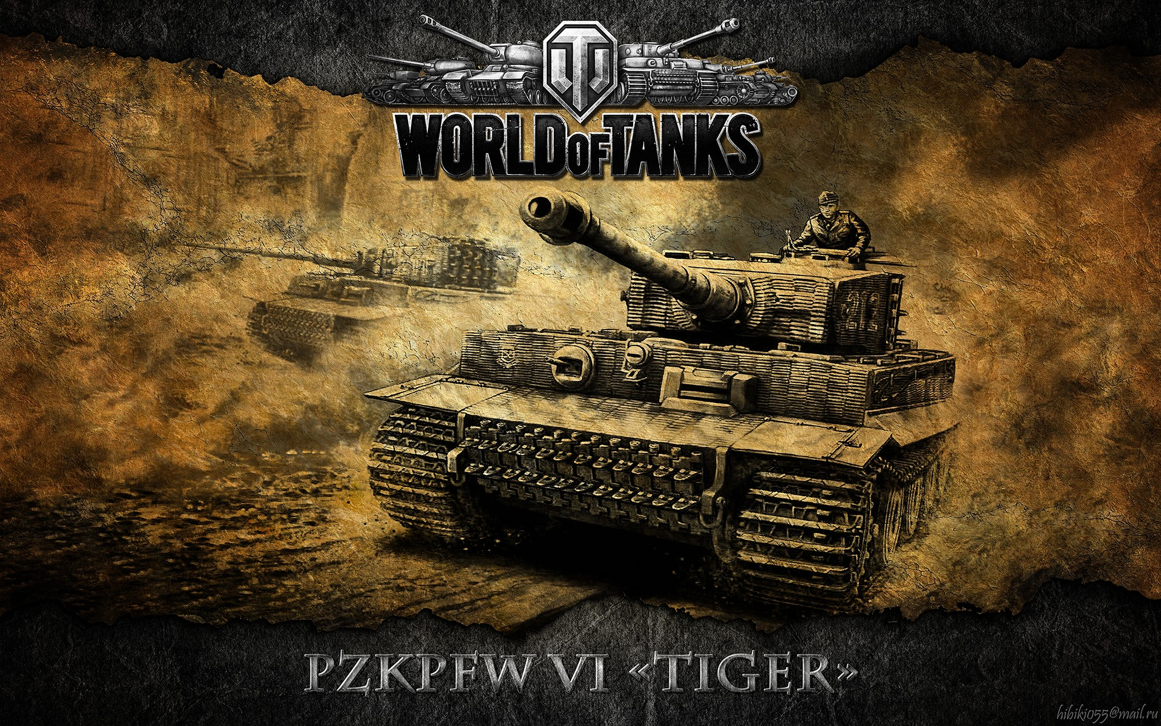 world of tanks the pzkpfw vi tiger 1 computer wallpapers