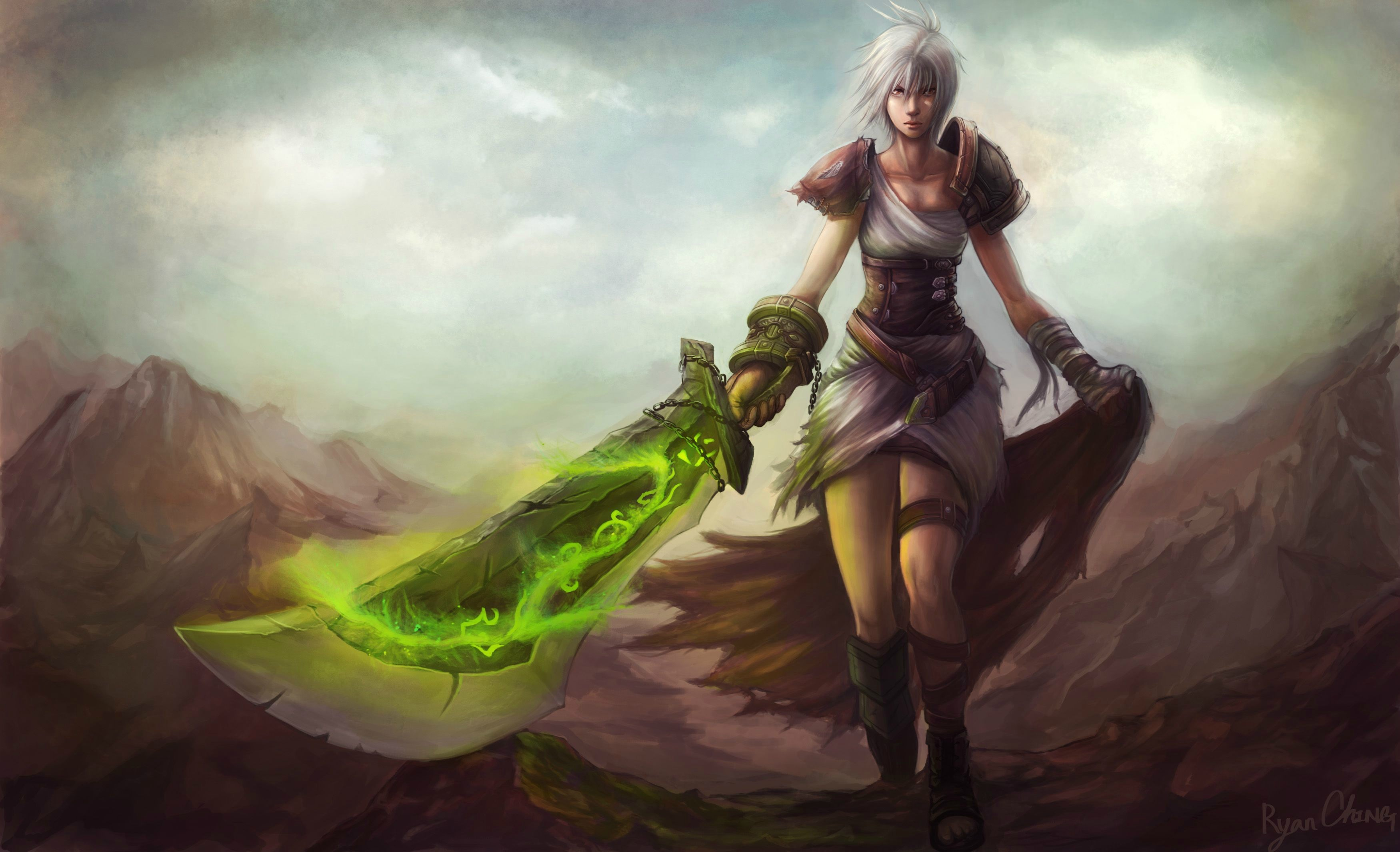 126 Riven League Of Legends HD Wallpapers