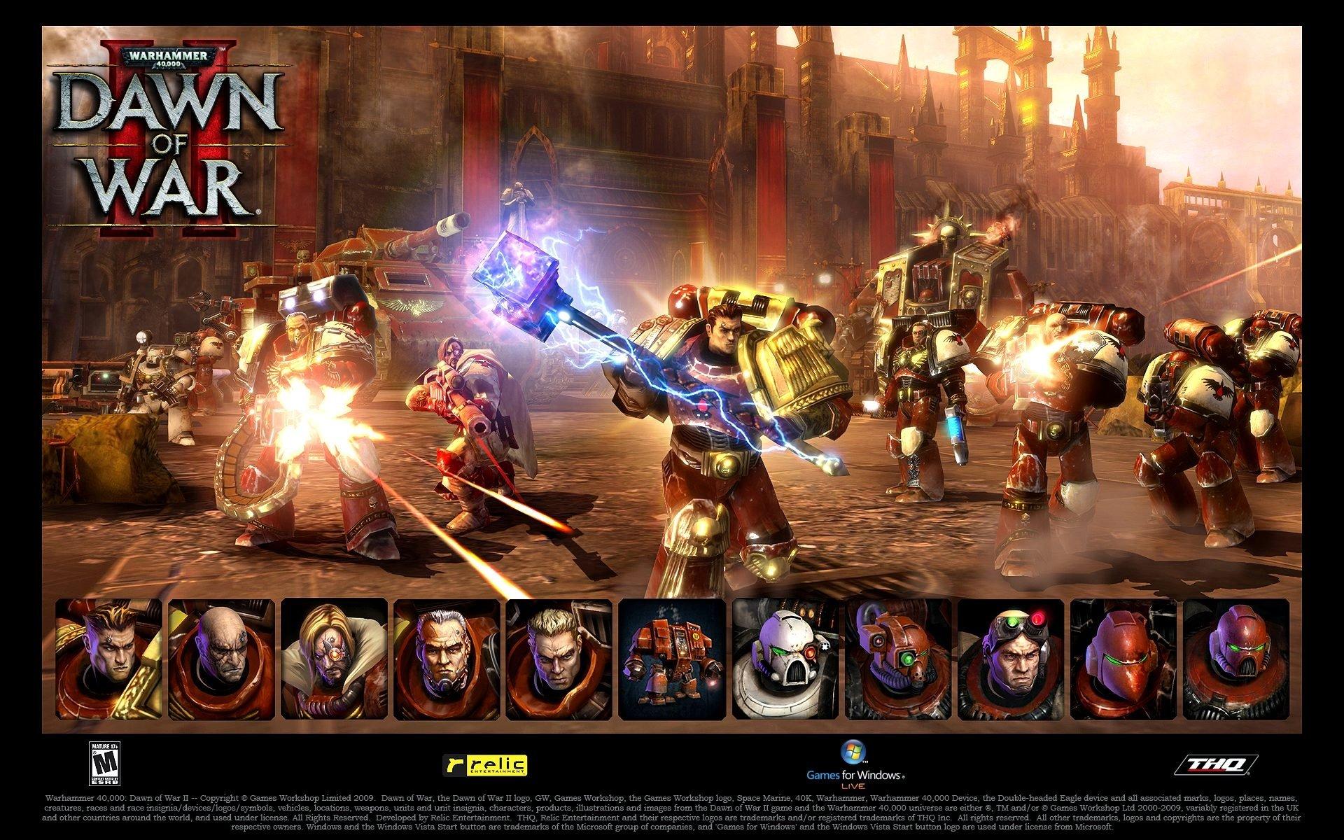 Dawn of War est un jeu de stratégie en temps réel développé par Relic Entertainment. Dawn of War propose quatre races provenant du monde de Warhammer 40000 à savoir les orks qui peuvent se multiplier afin de dominer l'adversaire, les Space marines qui protègent la terre très puissant dans la mécanique, les space marines du …