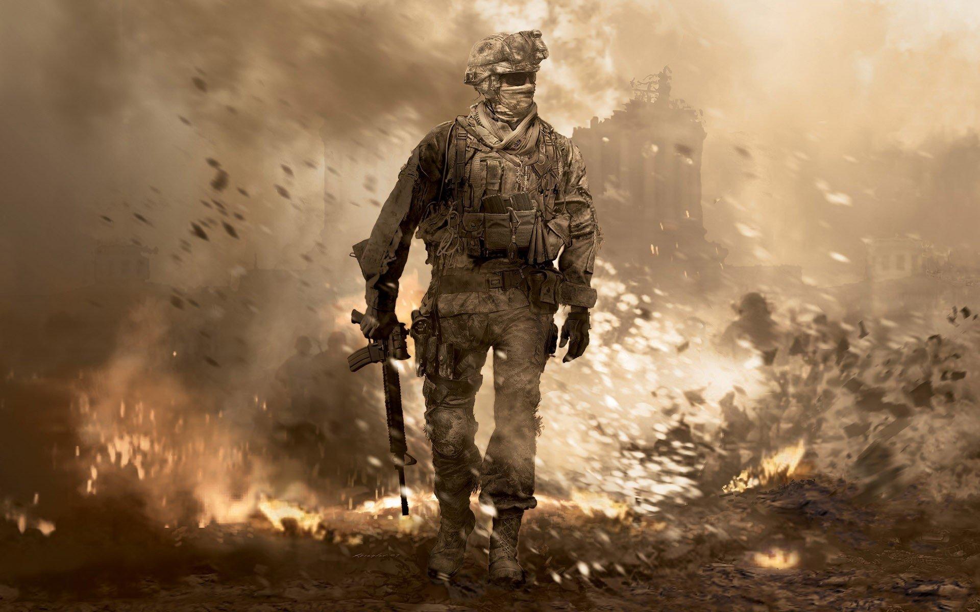 Call of Duty Modern Warfare 2 Fond d\u0027écran HD