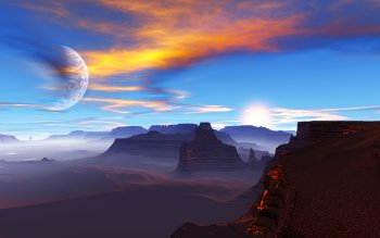 Science-Fiction - Landschaft Wallpapers and Backgrounds ID : 330999