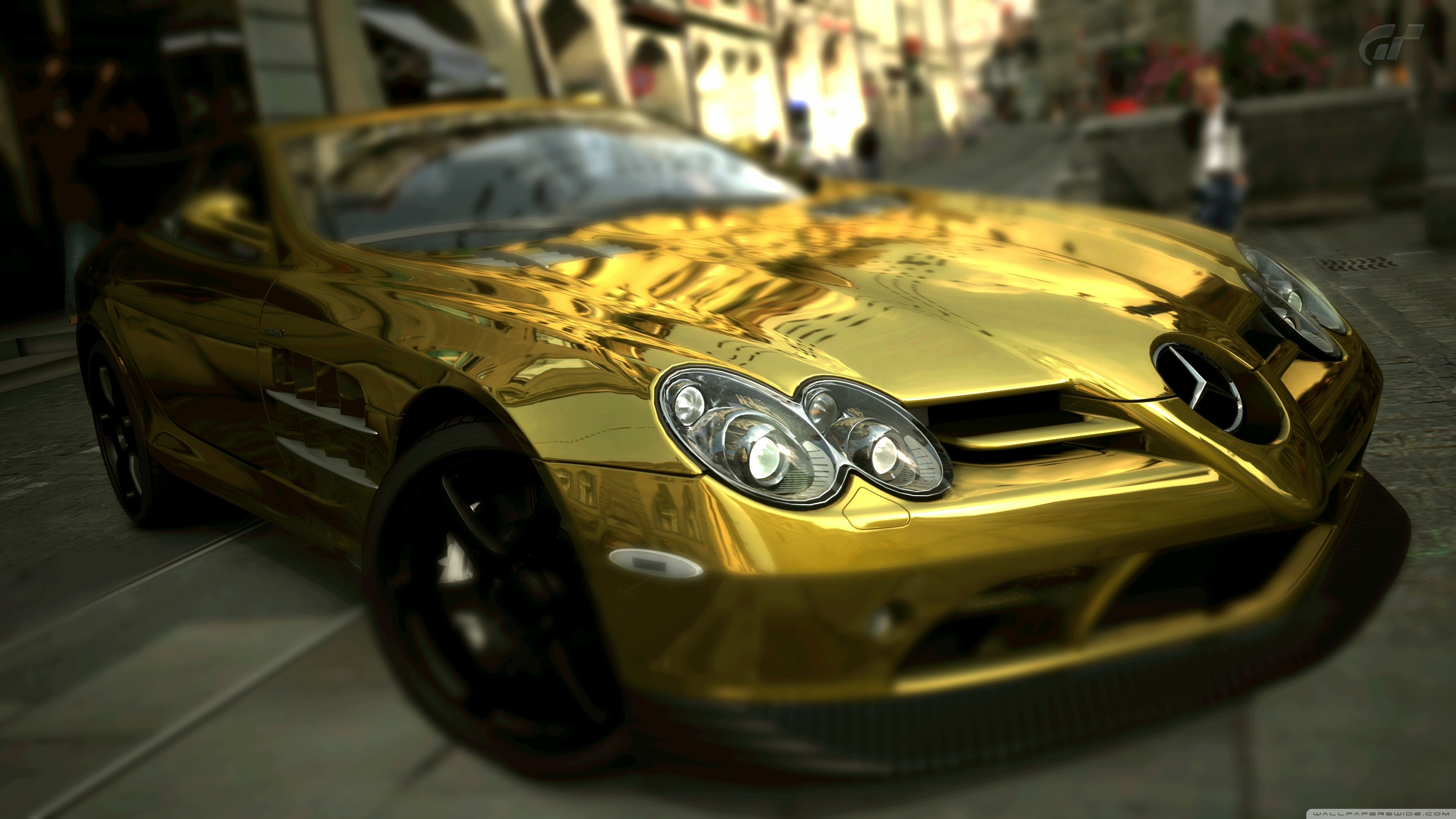 Gold Car Wallpapers: Backgrounds - Wallpaper Abyss