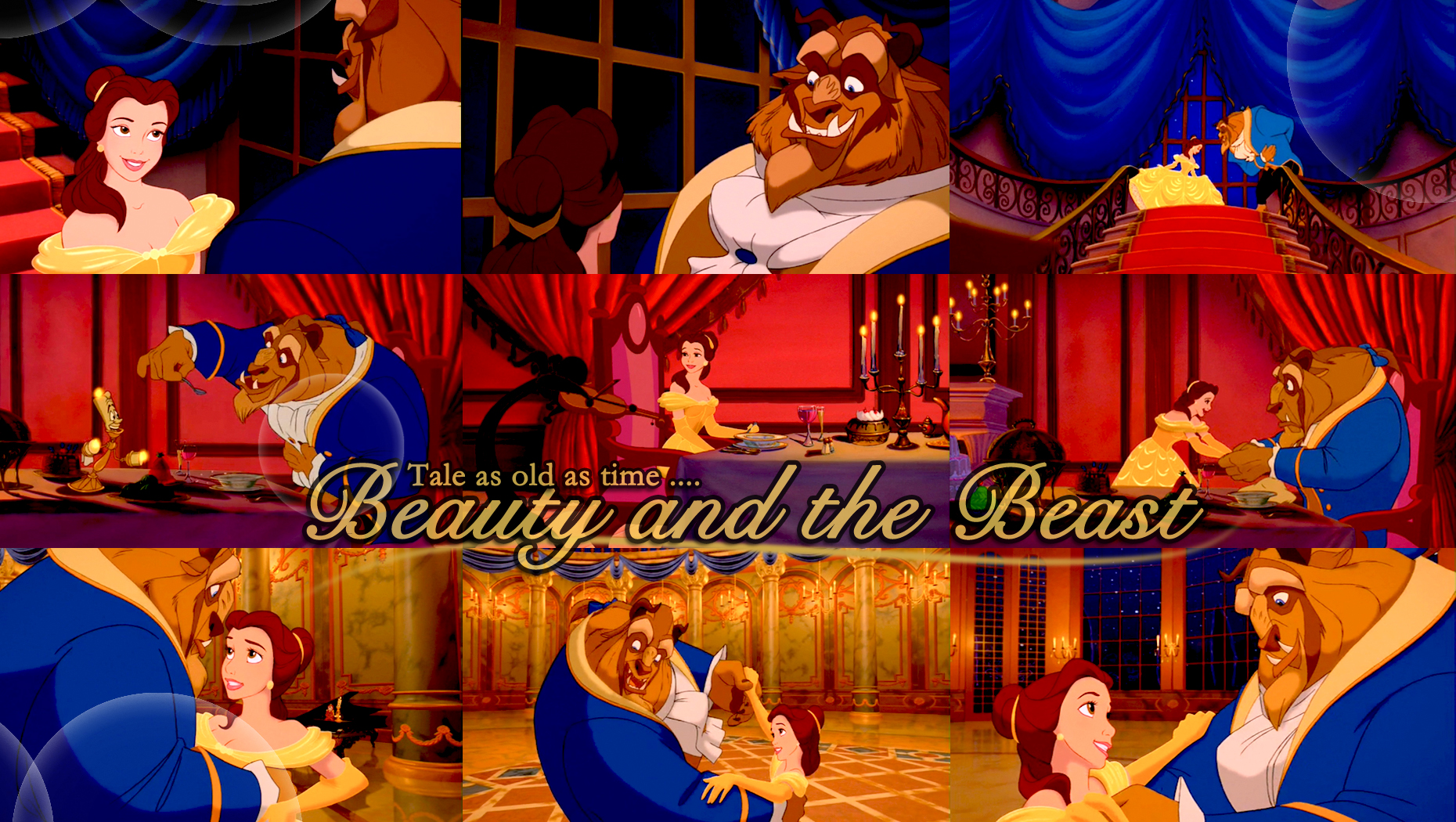 Download Beauty And Beast: Beauty And The Beast Wallpaper And Background Image