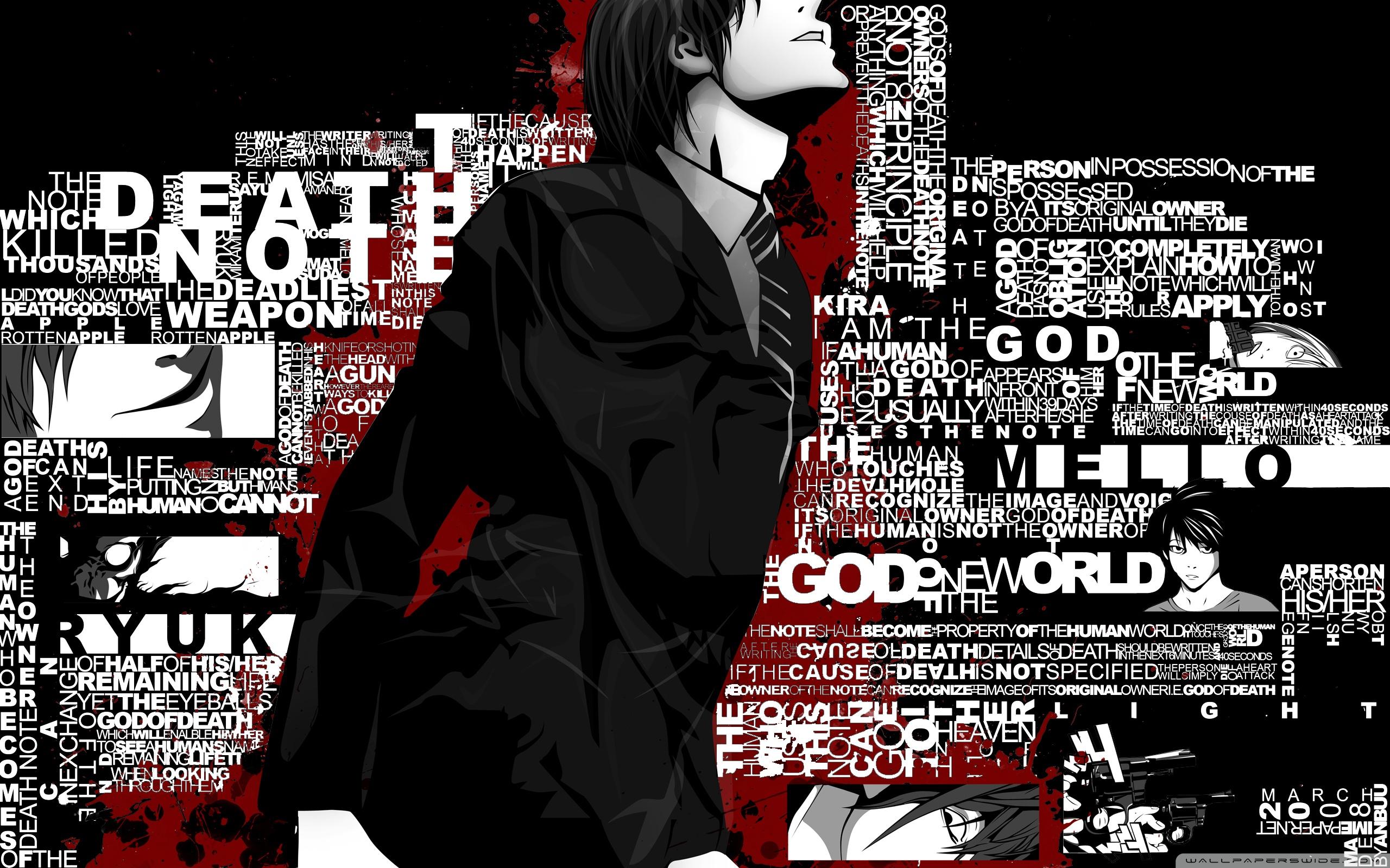 Death Note Wallpaper Light