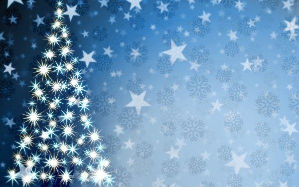 Día festivo Navidad Christmas Tree Copo de nieve Fondo de pantalla HD | Fondo de Escritorio