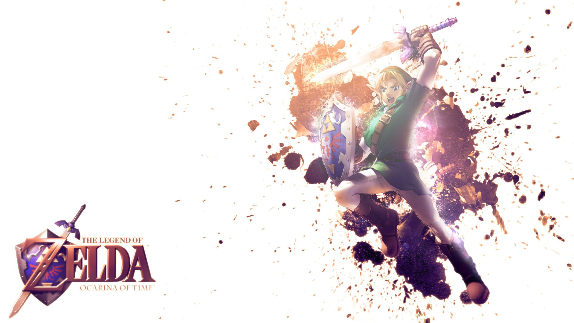 the legend of zelda: ocarina of time full hd wallpaper and