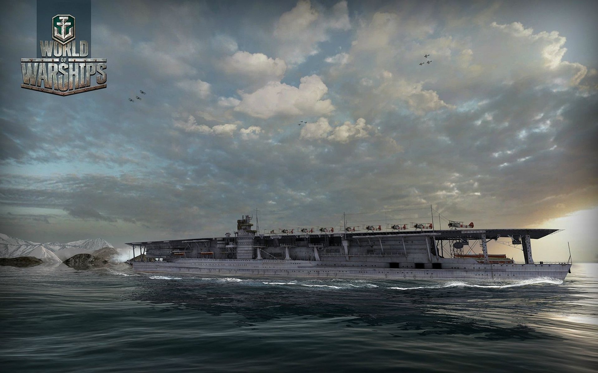 world of warships how to use a carrier langley