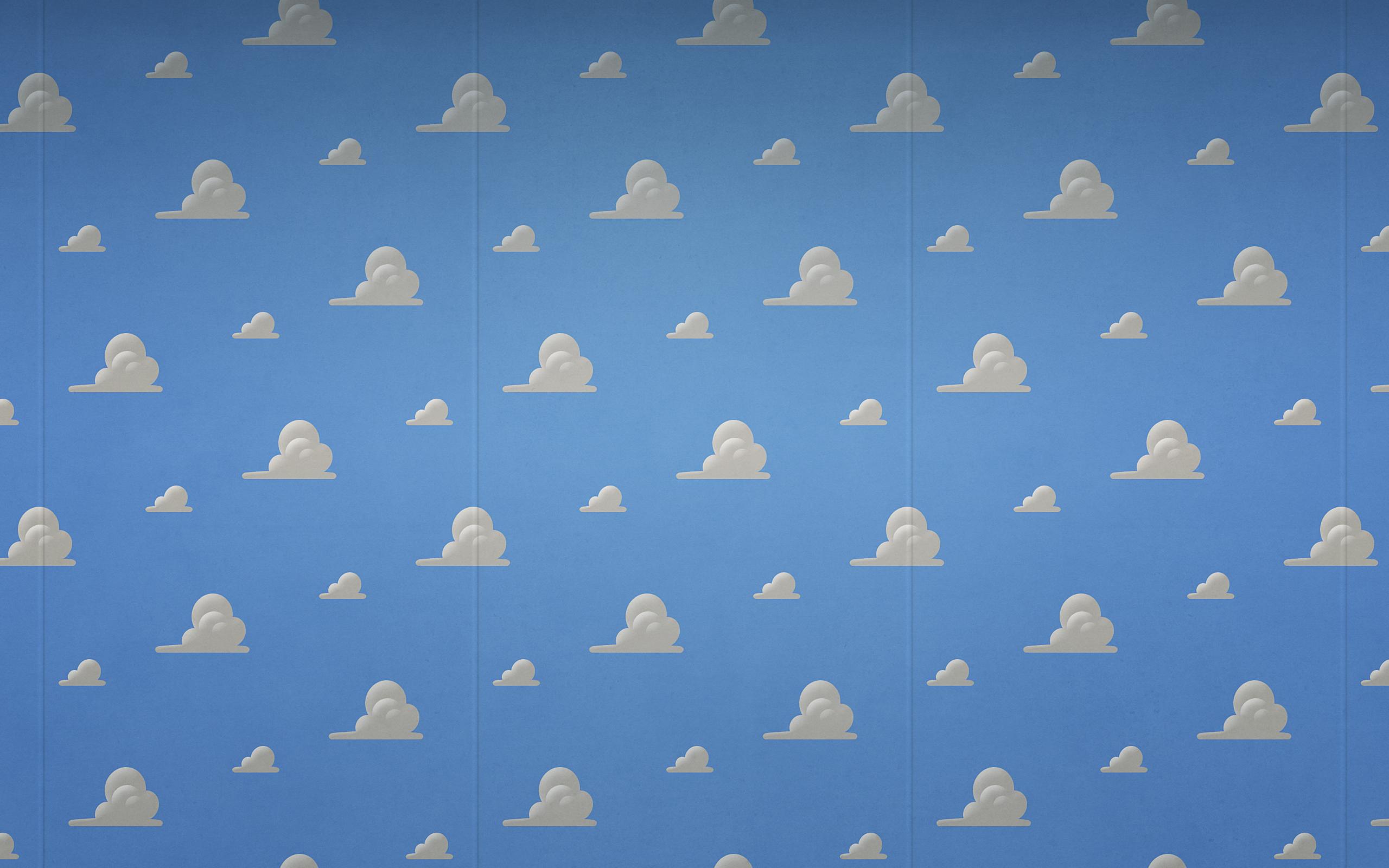 トイストーリーの雲の壁紙
