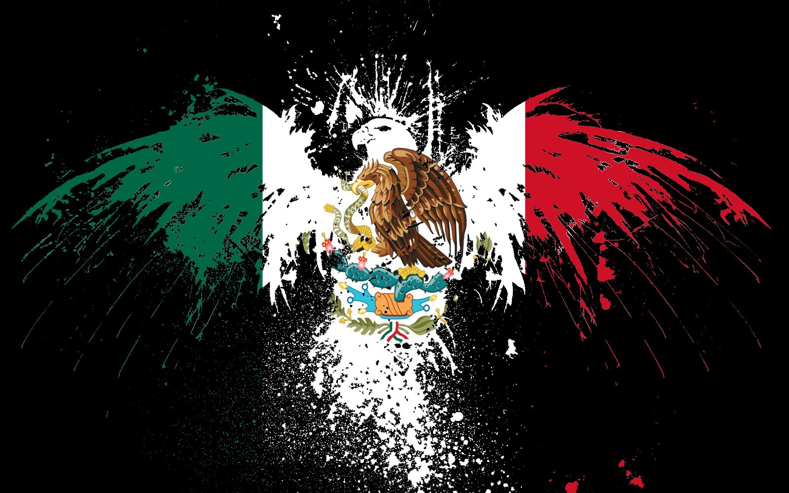 Flag Of Mexico Wallpaper And Background Image