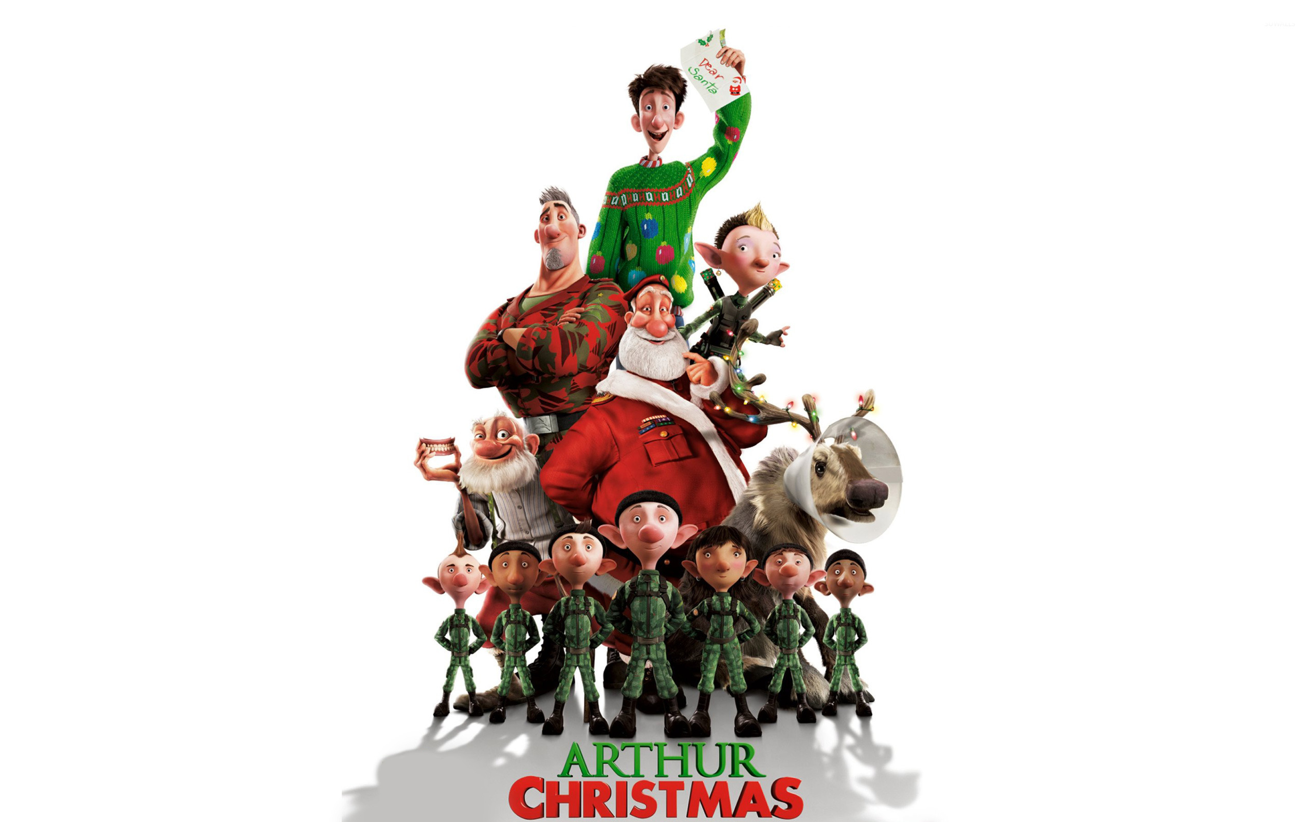 Arthur Christmas HD Wallpaper | Background Image | 2560x1600 | ID ...