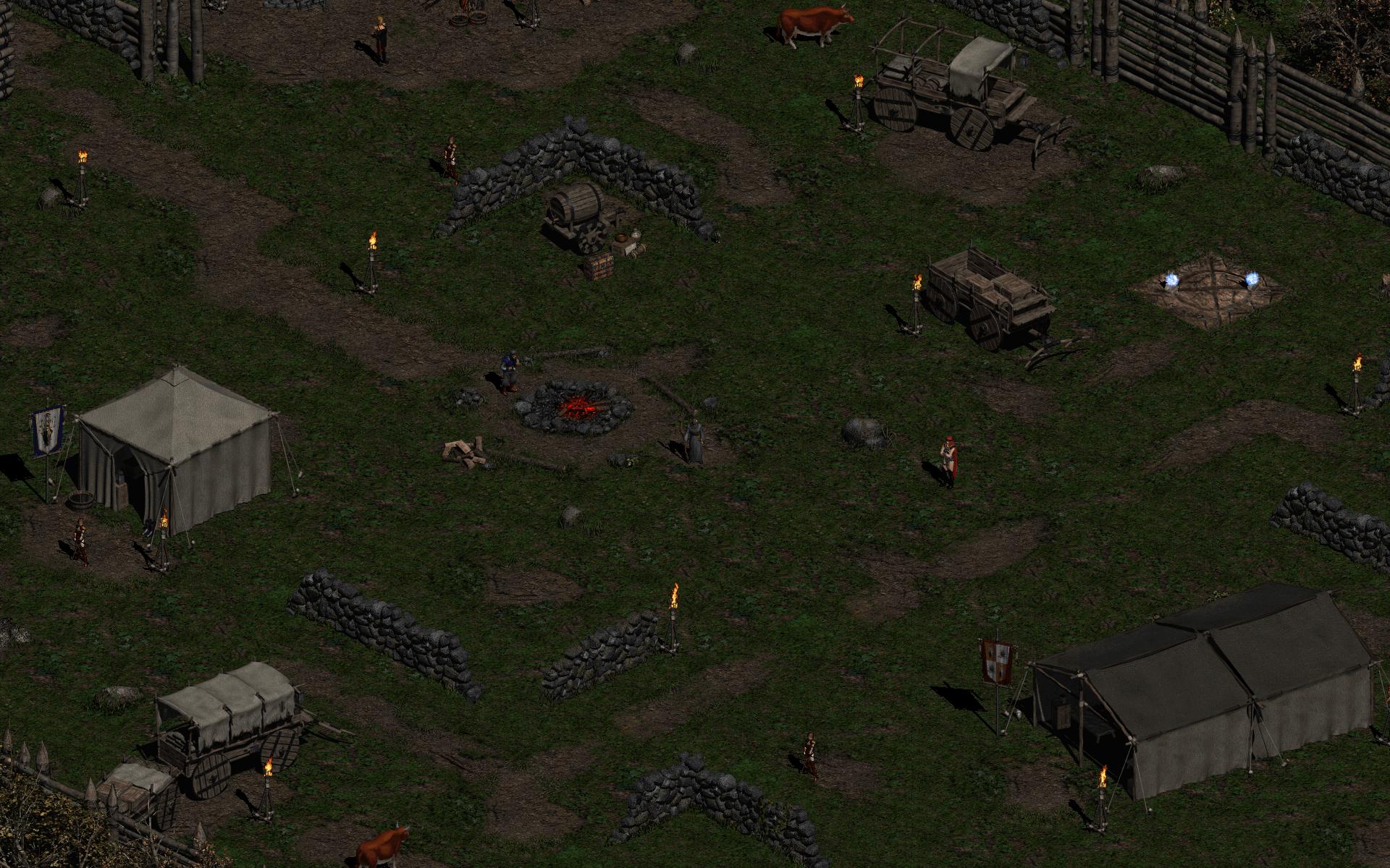 Diablo ii hd wallpaper background image 1920x1200 id - Diablo 2 lord of destruction wallpaper ...