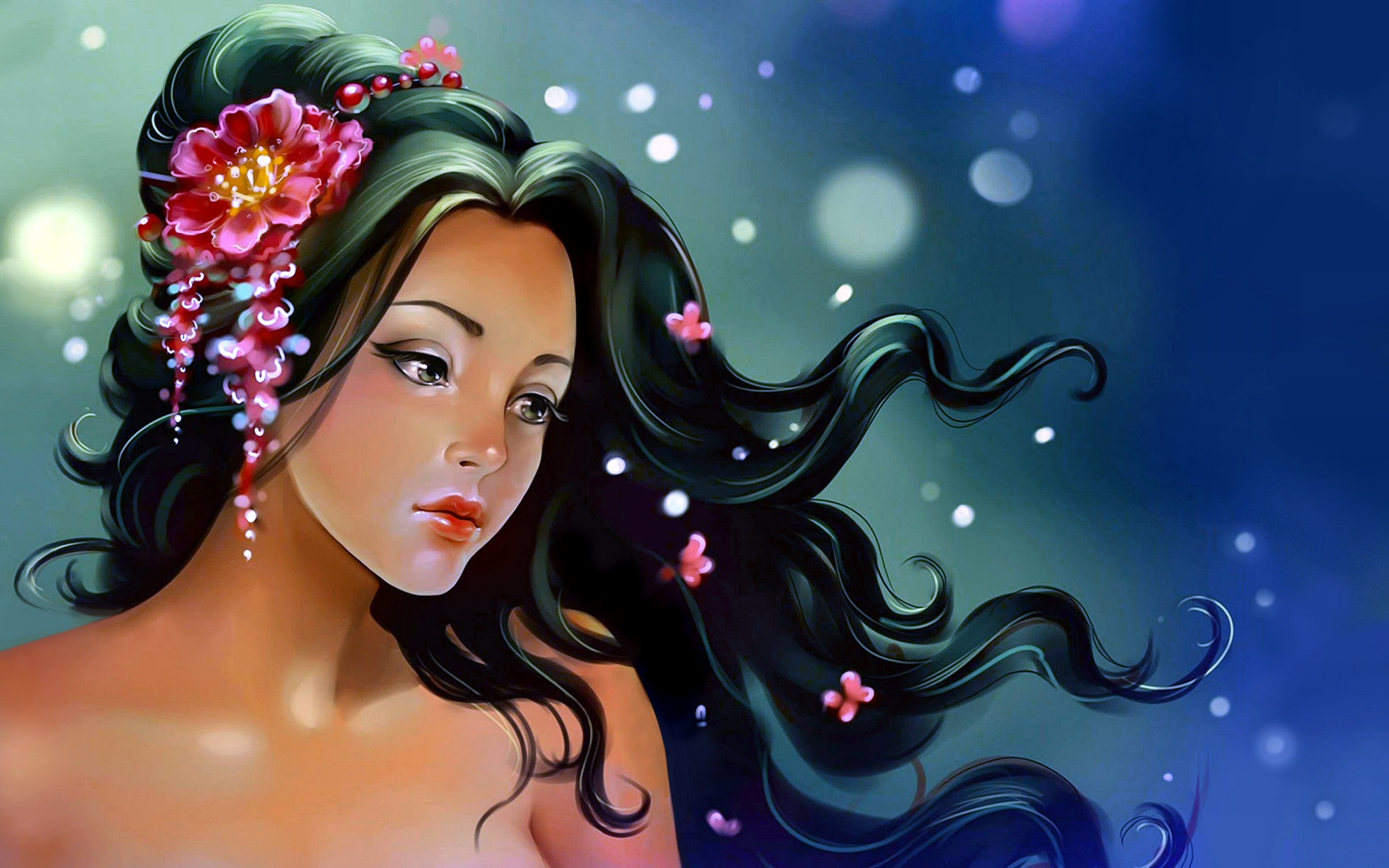 4276 women hd wallpapers background images wallpaper abyss dolphin fantasy room vase woman hd wallpaper background image id335269 voltagebd Images
