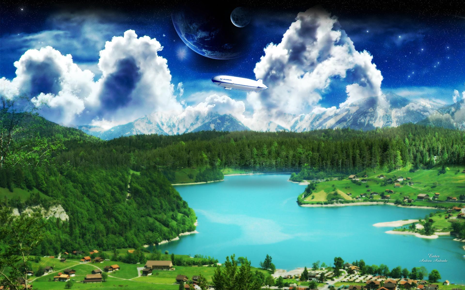 A Dreamy World HD Wallpaper