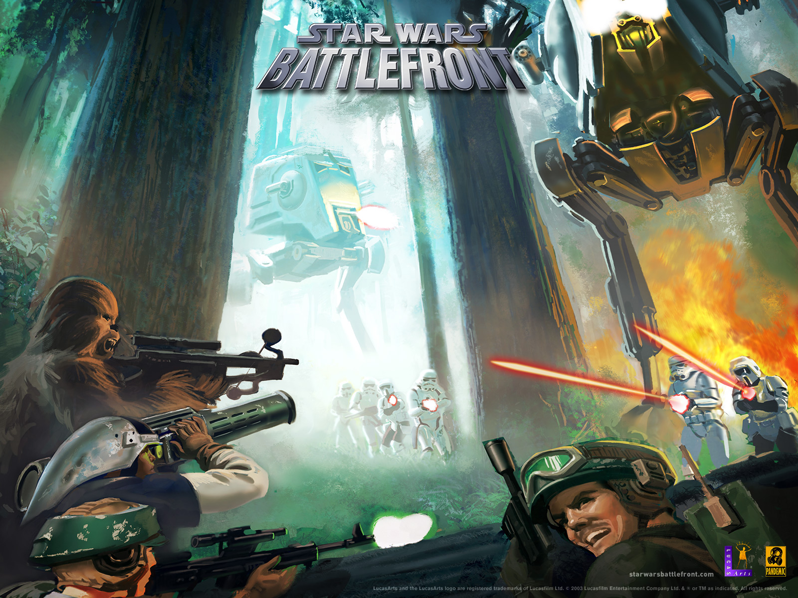 Star Wars Battlefront Wallpaper And Background Image 1600x1200 Id 335762 Wallpaper Abyss