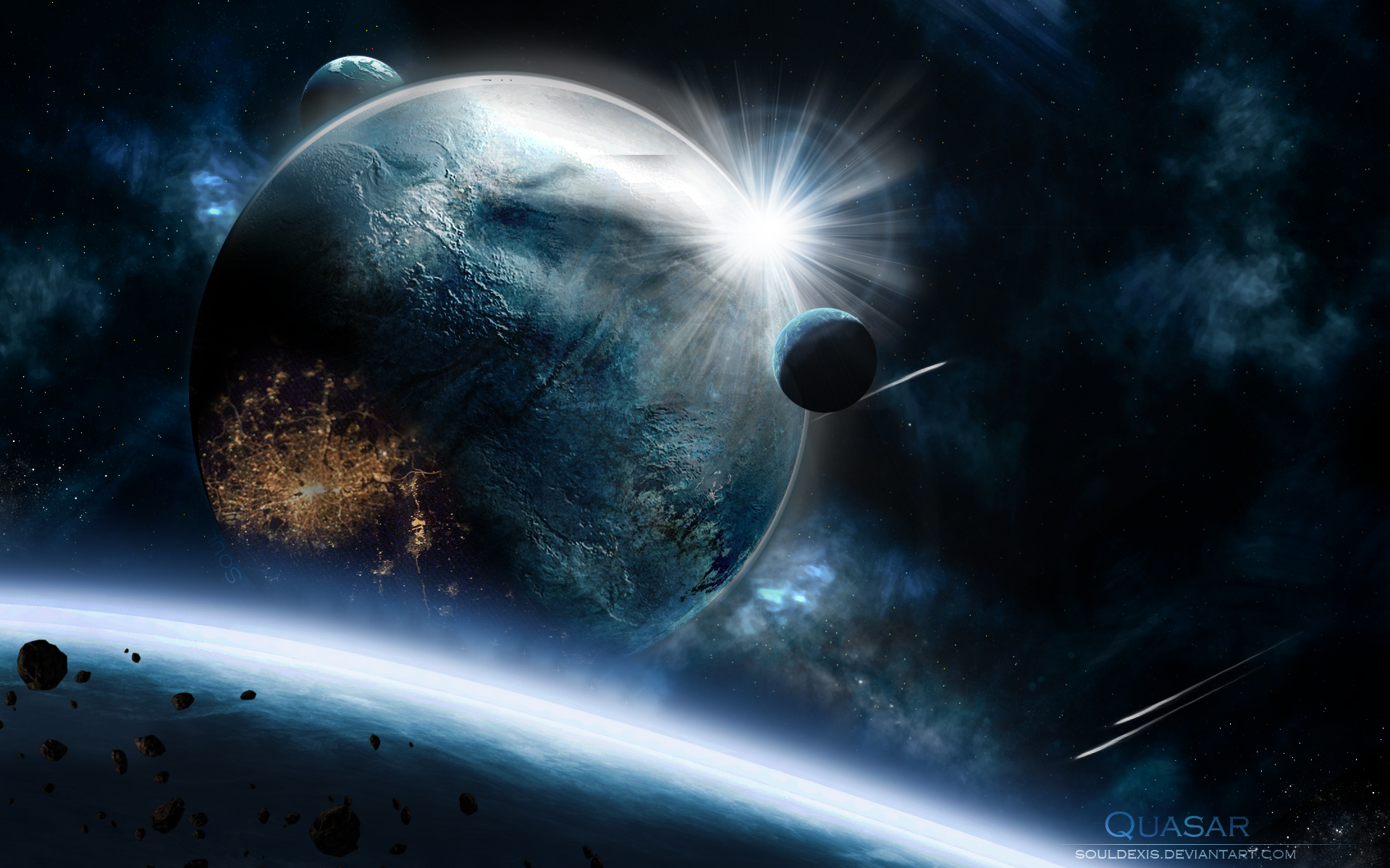 planets 3d windows background - photo #17