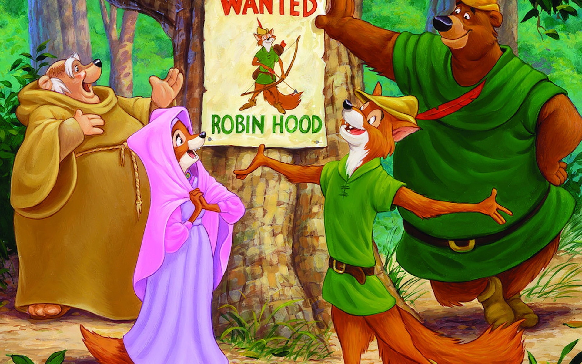11 robin hood hd wallpapers backgrounds wallpaper abyss - Hood cartoon wallpaper ...