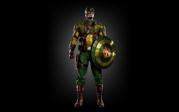 Comics Captain America Lithuania HD Wallpaper | Background Image