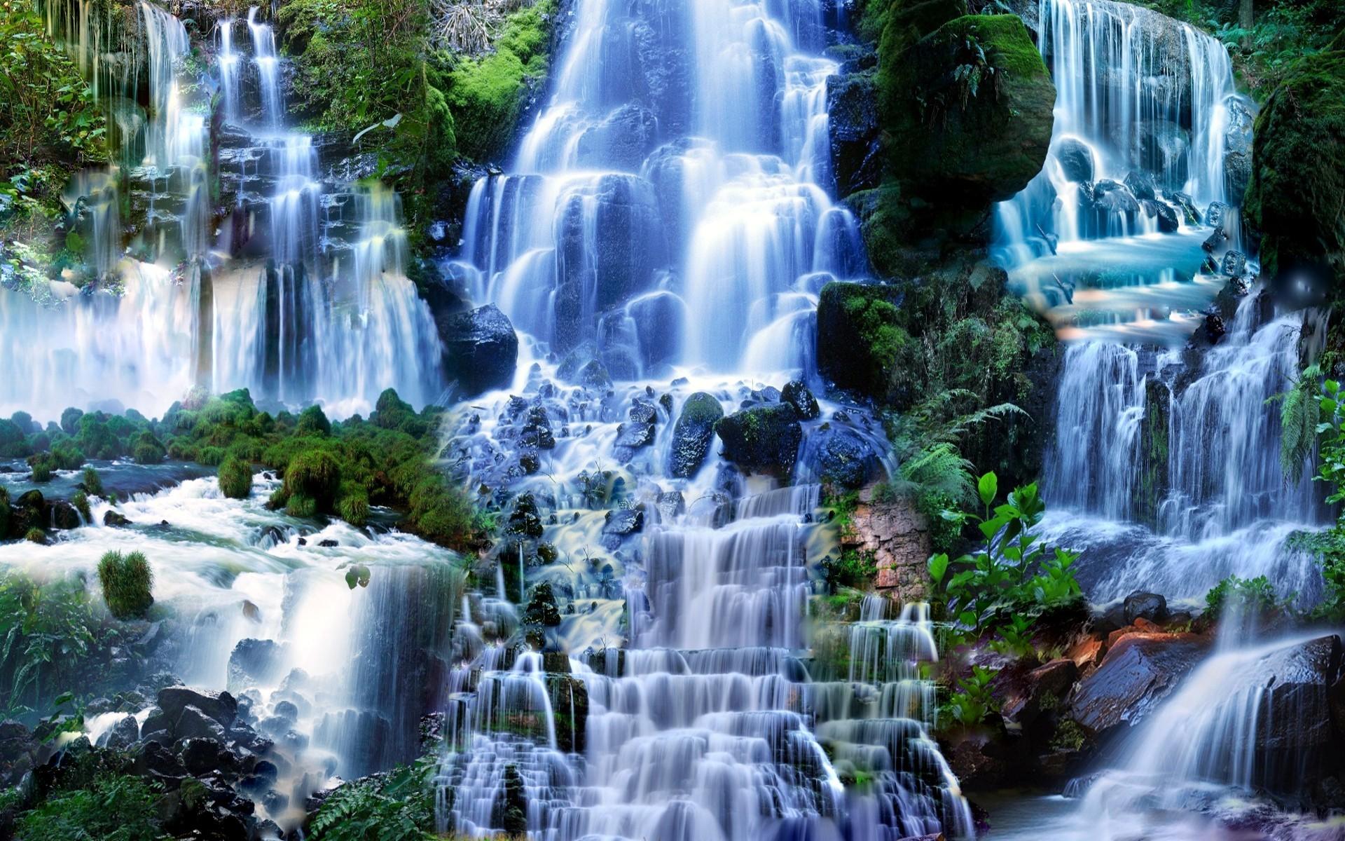 Waterfall Hd Wallpaper Background Image 1920x1200 Id