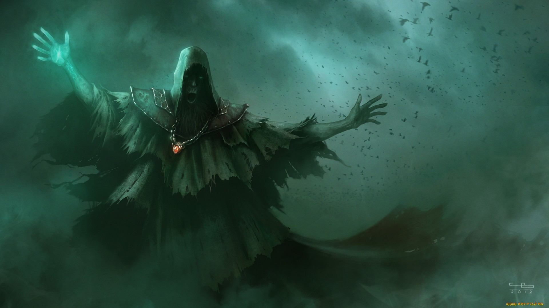 Fantasy Art Necromancers Wallpapers Hd Desktop And: Sorcerer Full HD Wallpaper And Background Image