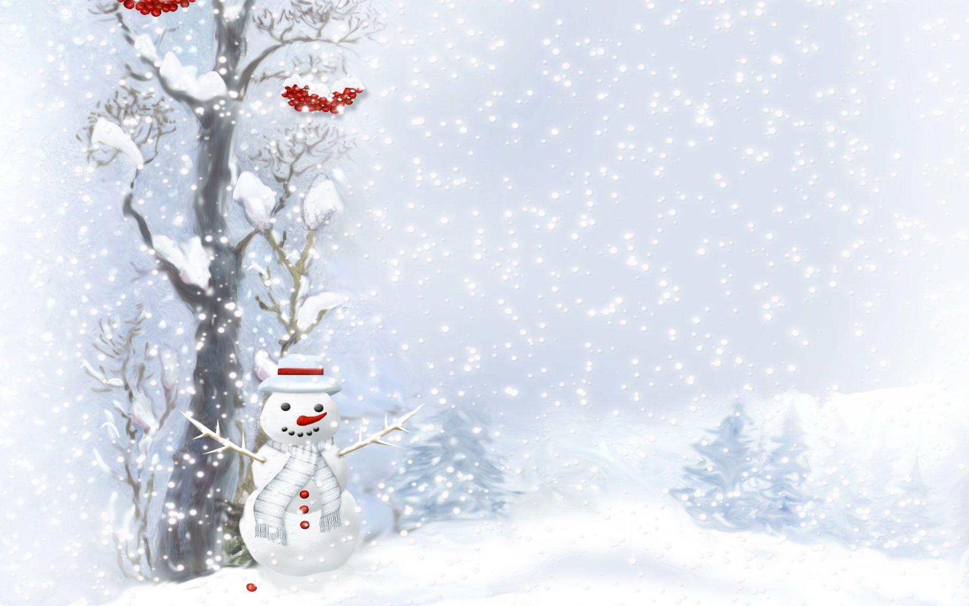 Artistic - Snowman  Wallpaper